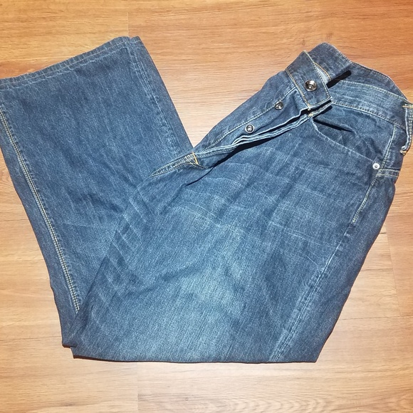 Ed Hardy Other - ED HARDY MENS DENIM PANTS 40 X 32 Button Fly